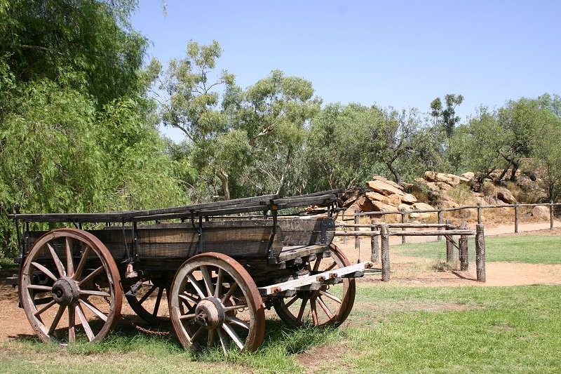 Alice Springs: Telegraph Station IV