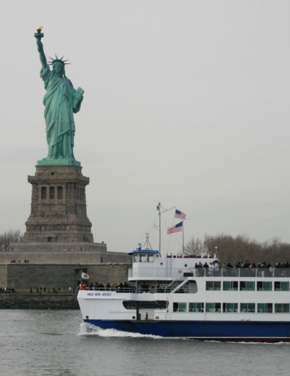 Manhattan-Bootstour: Statue of Liberty III