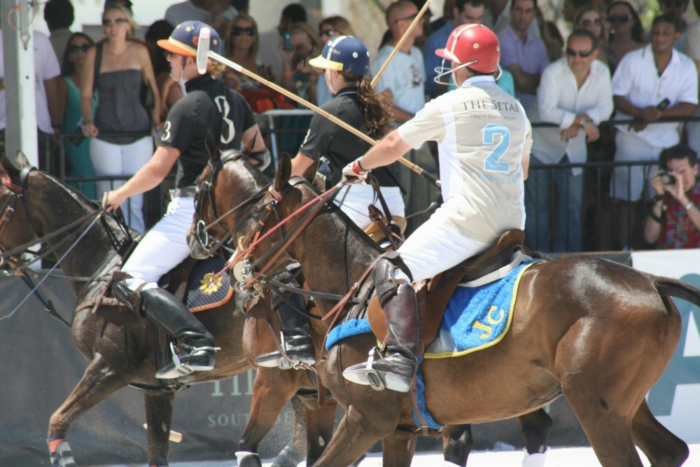 Miami Beach Polo World Cup am Strand XII