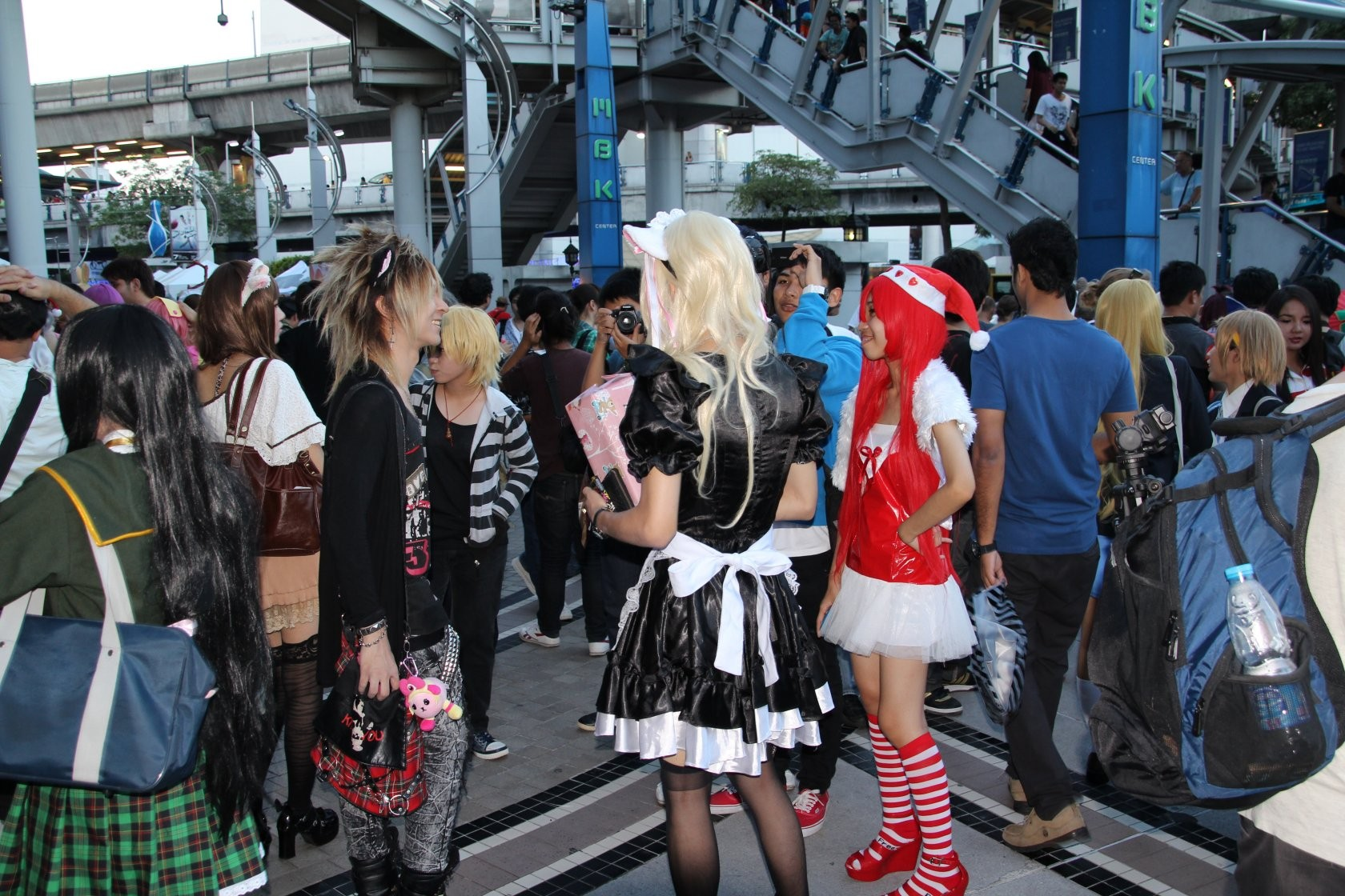 Bangkok - Cosplay / Festival J-Trends in Town am MBK XXXI