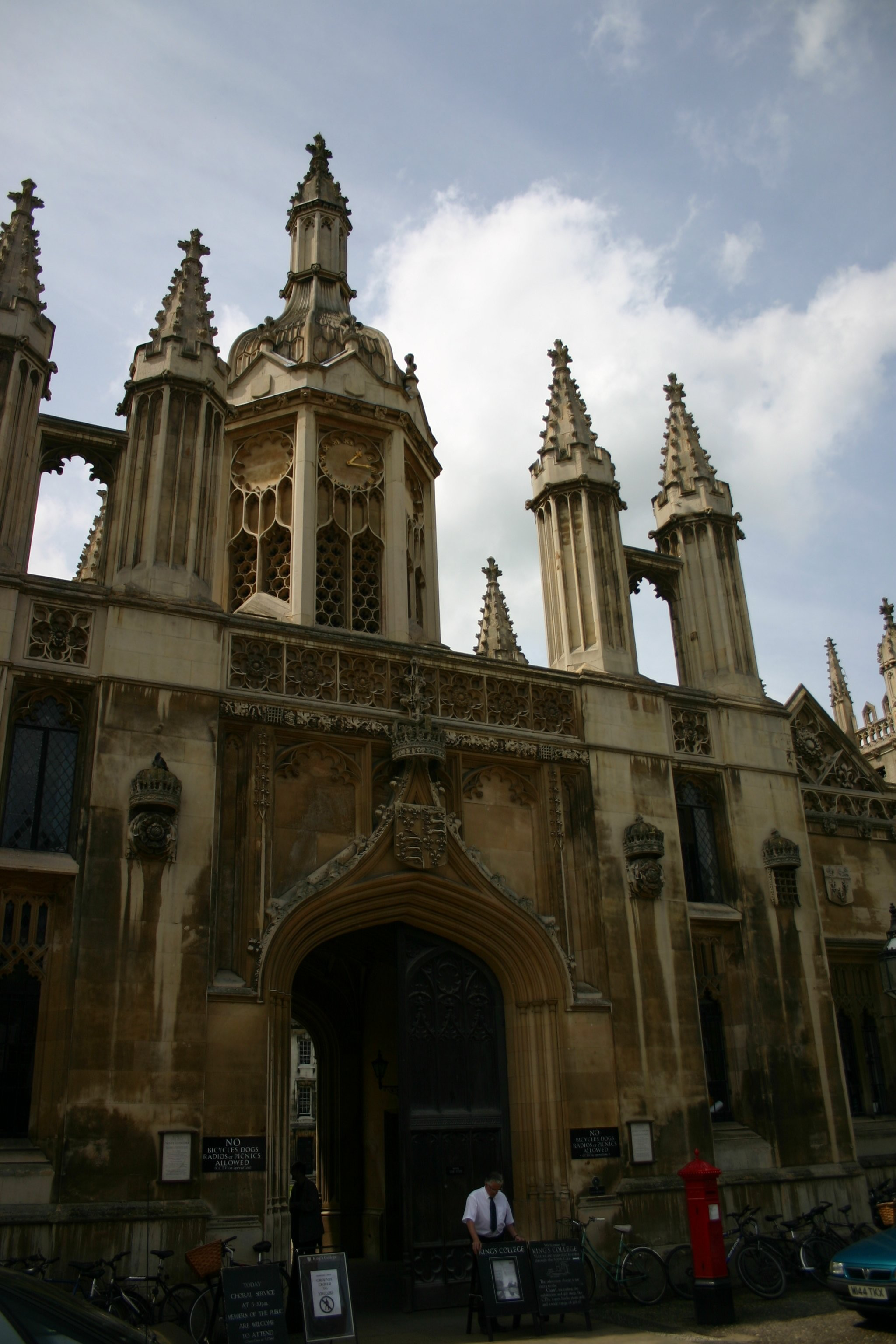 Cambridge - Kings College Chapel