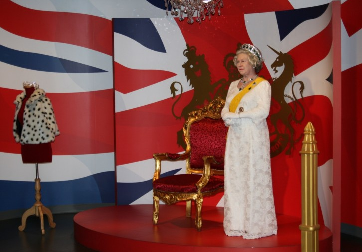Madame Tussauds Bangkok - Queen of England I