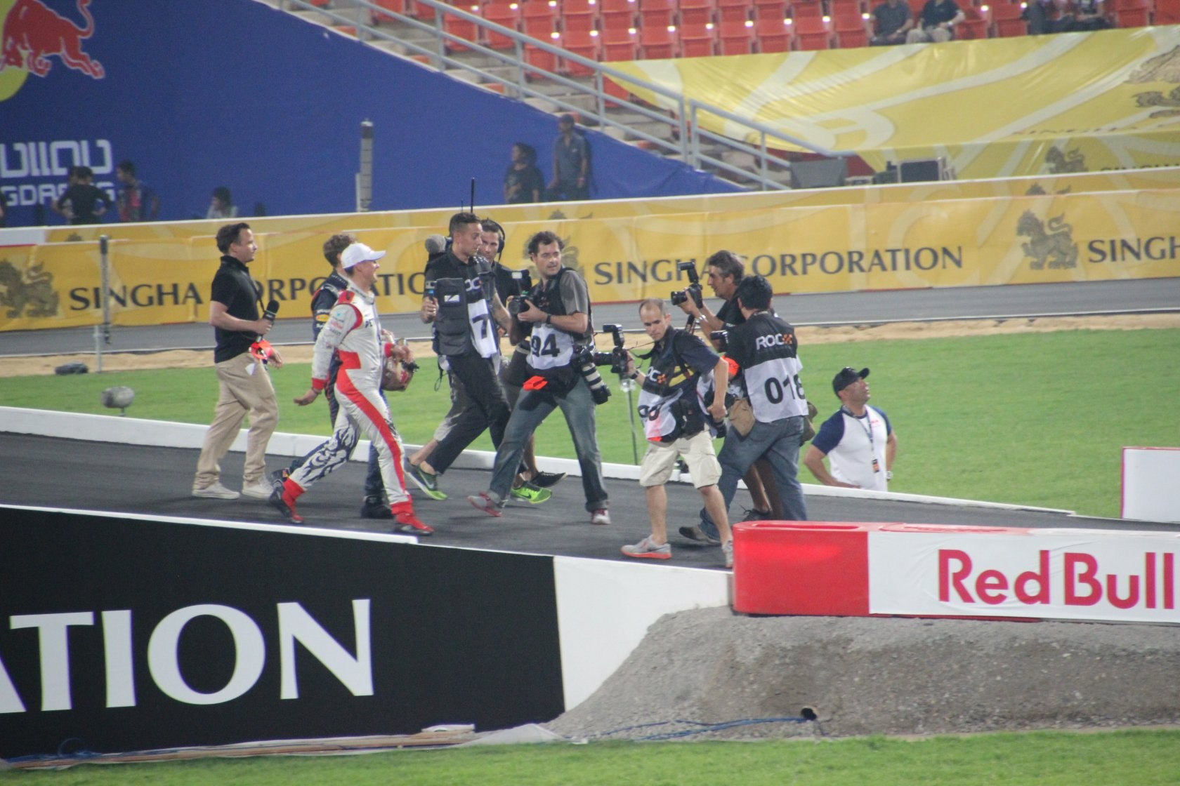 Bangkok - Race of Champions im Rajamangala-Stadion (ROC Nations Cup) XLV