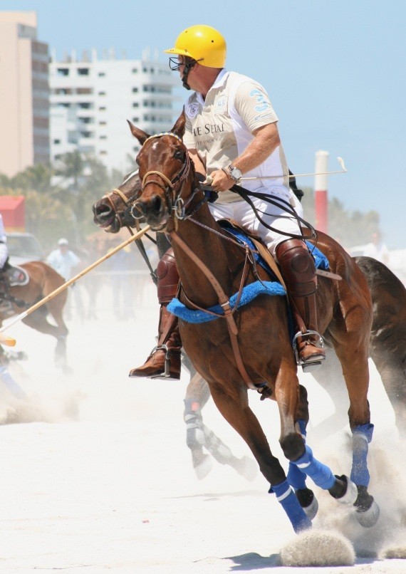 Miami Beach Polo World Cup am Strand XIV