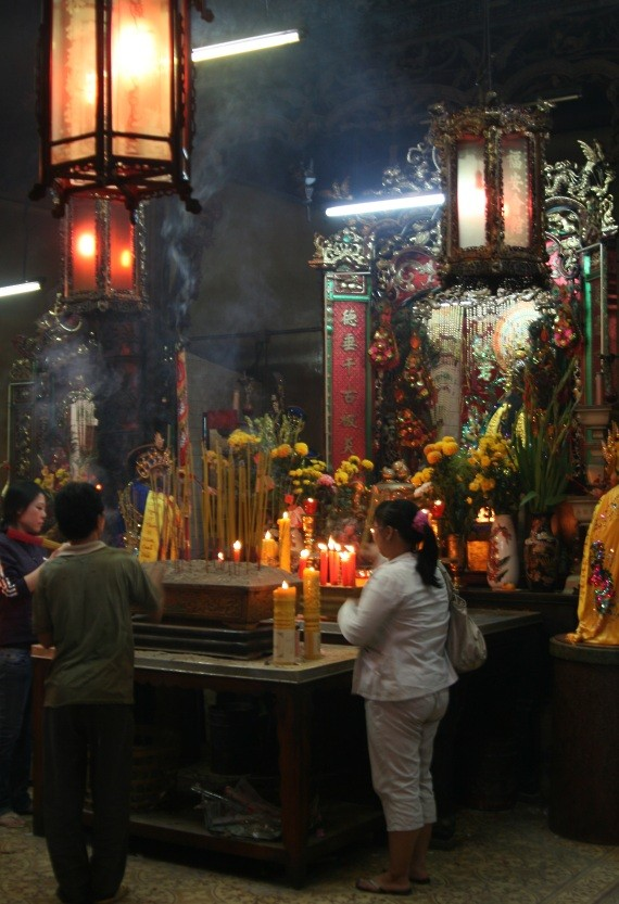 Ho Chi Minh City / Saigon: Tempel-/Pagoden-Tour in Cholon XIII
