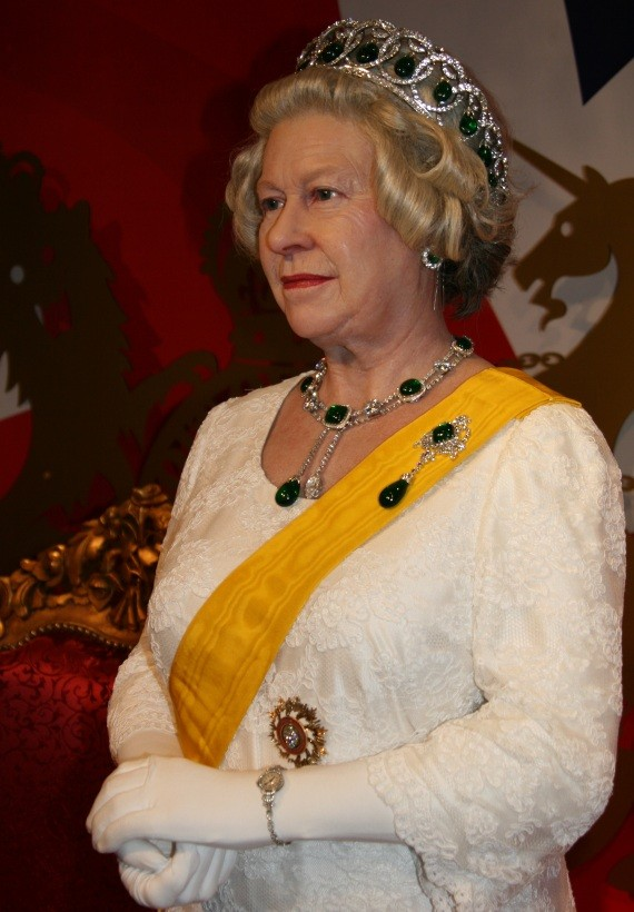 Madame Tussauds Bangkok - Queen of England III