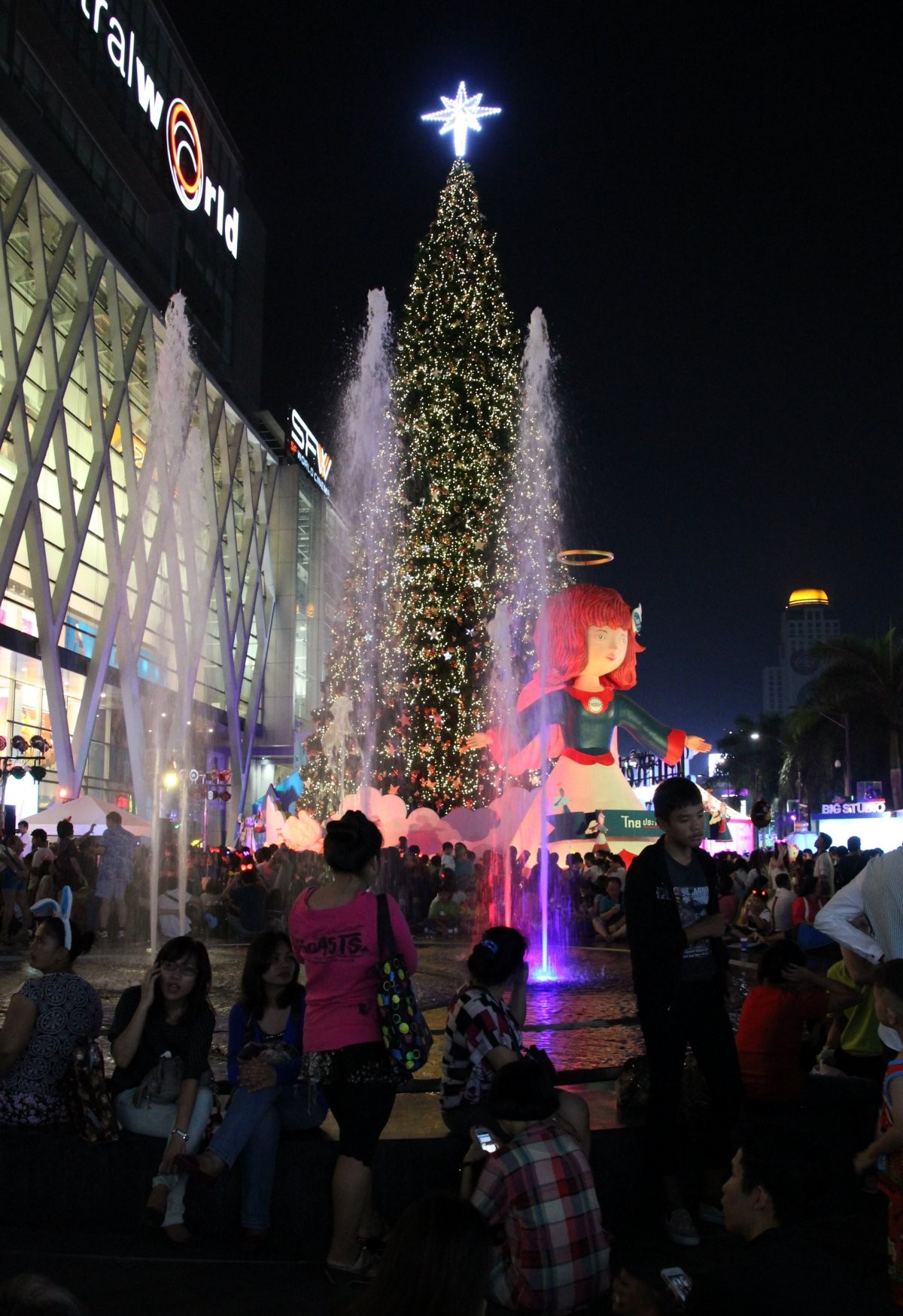 Bangkok - New Year Celebrations am Central World/Siam IX