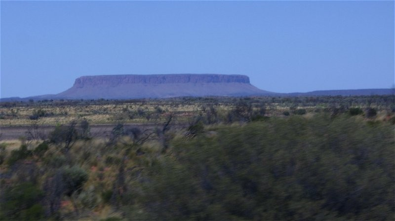 "Outback-Trip: Mt. Connor (""Fake-Uluru"")"