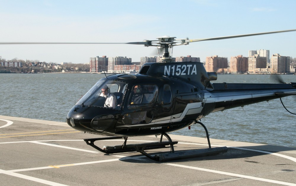 Heli-Flug in NYC: Liberty Helicopters I