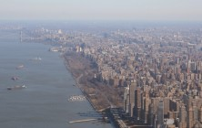 Heli-Flug in NYC: Manhattan am Hudson II