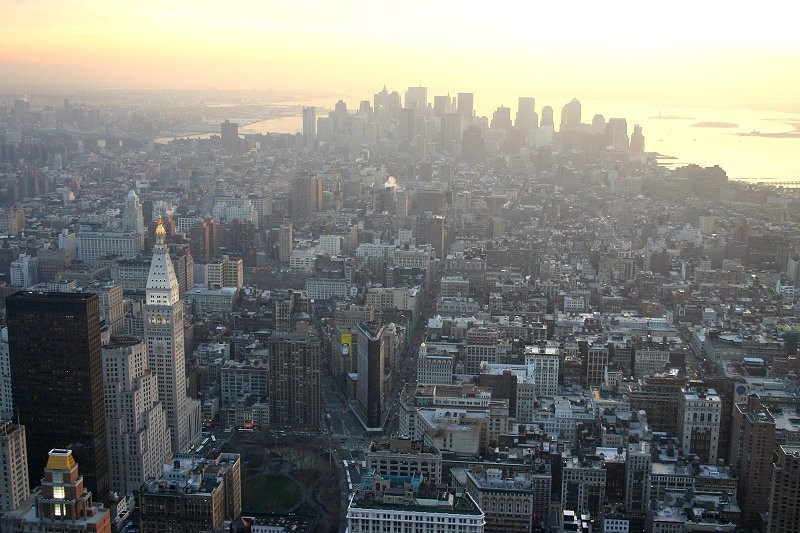 Blick vom Empire State Building XIV