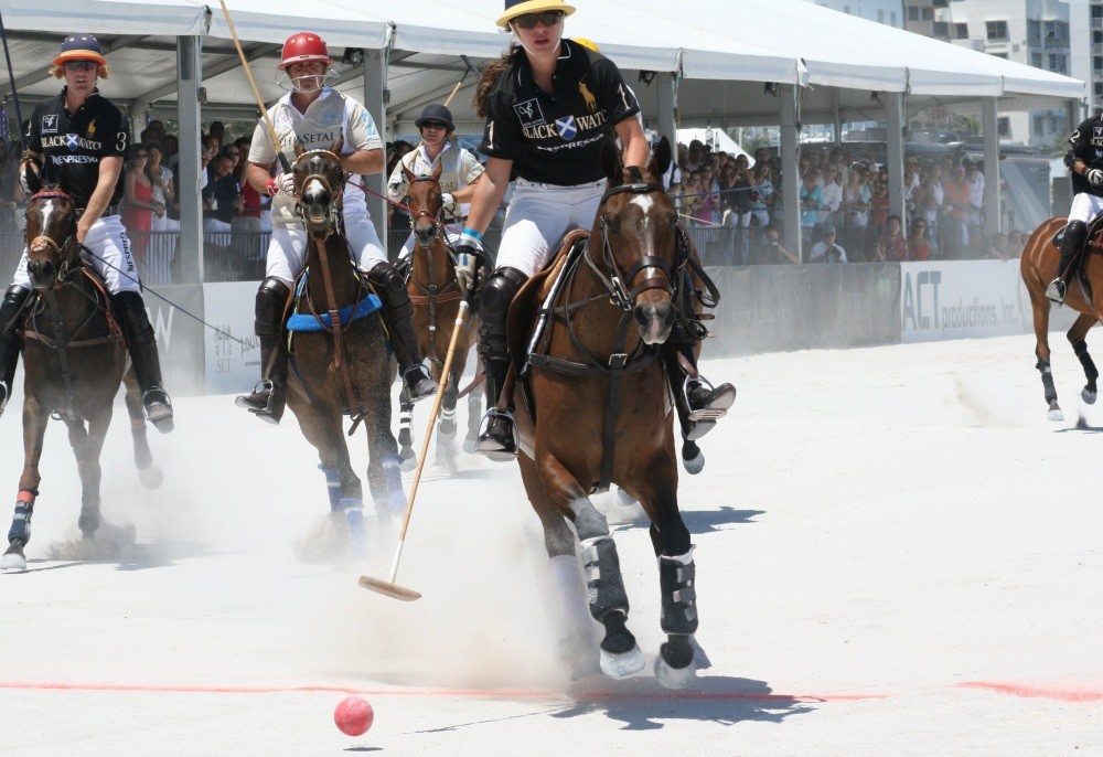 Miami Beach Polo World Cup am Strand IV