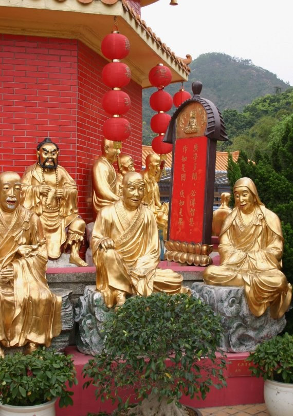 Monastery of Ten Thousand Buddhas VI