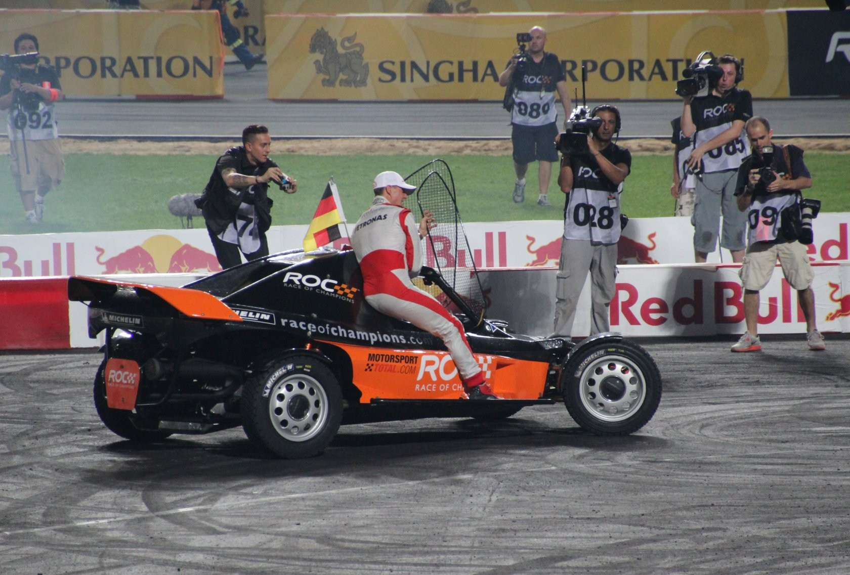 Bangkok - Race of Champions im Rajamangala-Stadion (ROC Nations Cup) XLI
