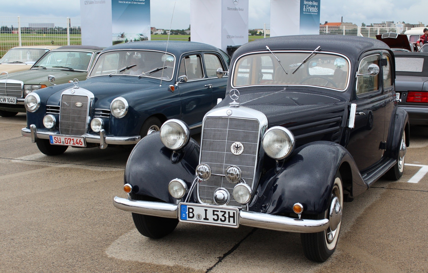 Mercedes-Benz & Friends - 125 Jahre Automobil in Tempelhof VIII