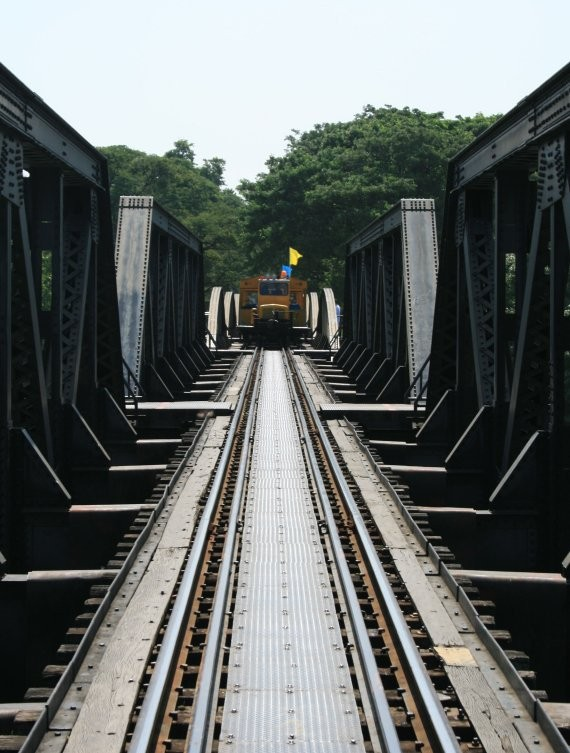 Kanchanaburi - Death Railway Bridge V