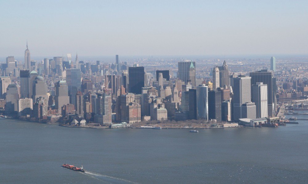 Heli-Flug in NYC: Downtown Manhattan III