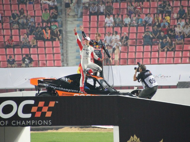 Bangkok - Race of Champions im Rajamangala-Stadion (ROC Nations Cup) XLIII