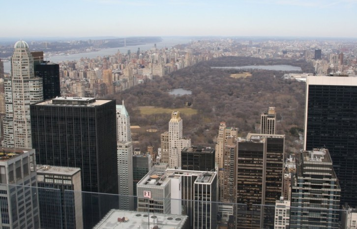 Top of the Rock: Central Park IV