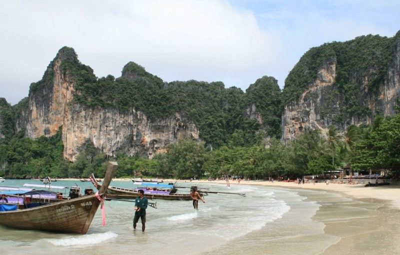 Krabi-Umgebung - Hat Rai Leh West (Railey Beach) III