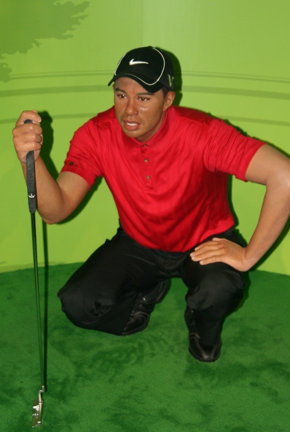 Madame Tussauds Bangkok - Tiger Woods