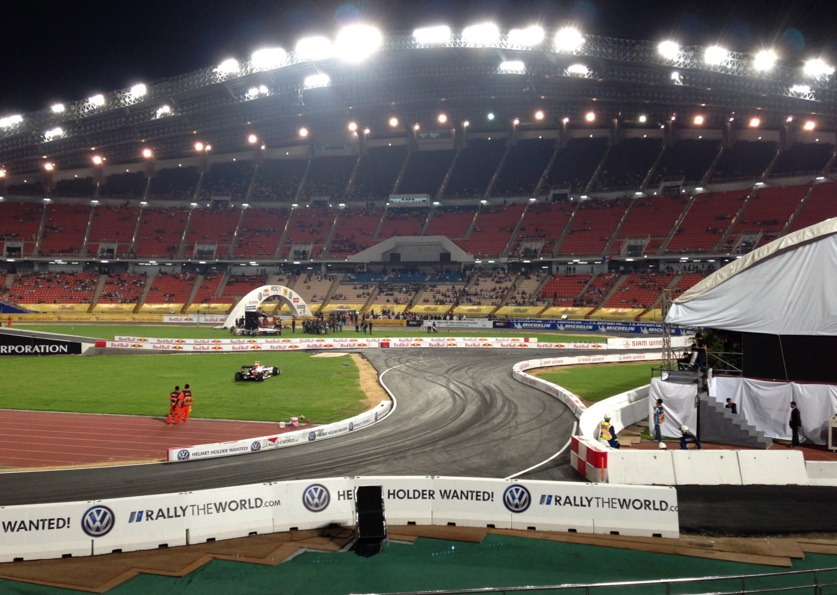 Bangkok - Race of Champions im Rajamangala-Stadion (ROC Nations Cup) I