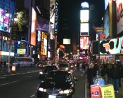 Times Square / 42nd St. am Abend V
