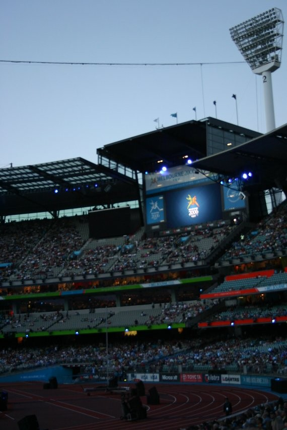 Melbourne: Commonwealth Games Closing Ceremony I