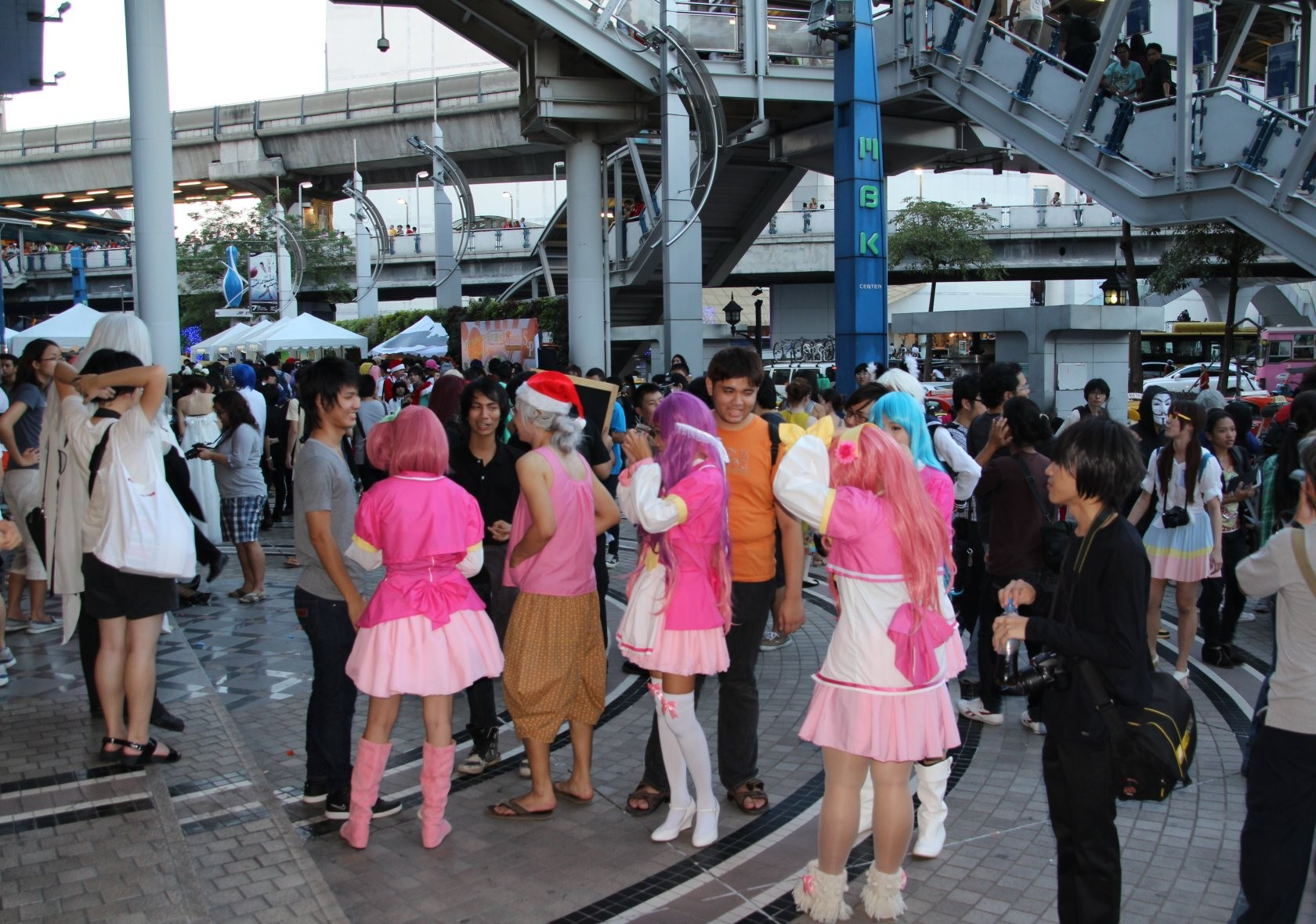 Bangkok - Cosplay / Festival J-Trends in Town am MBK XXXII