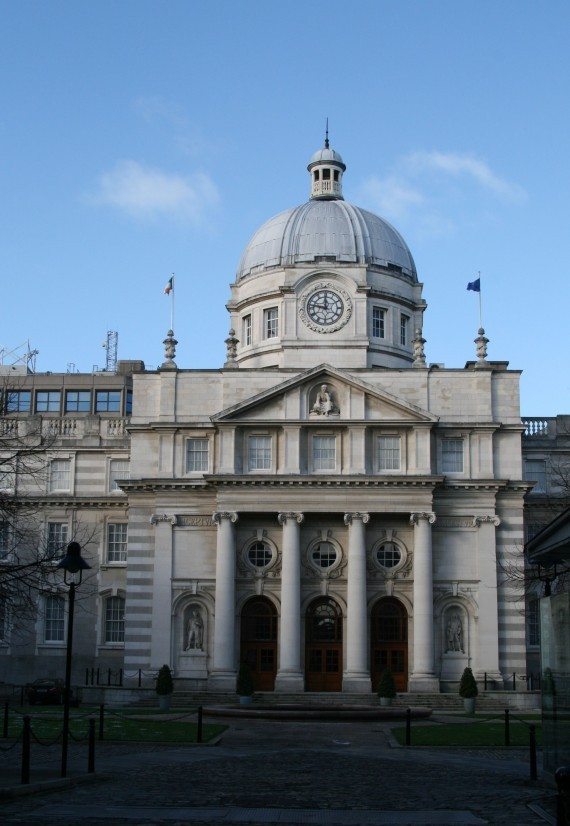 Leinster House (Irisches Parlament)
