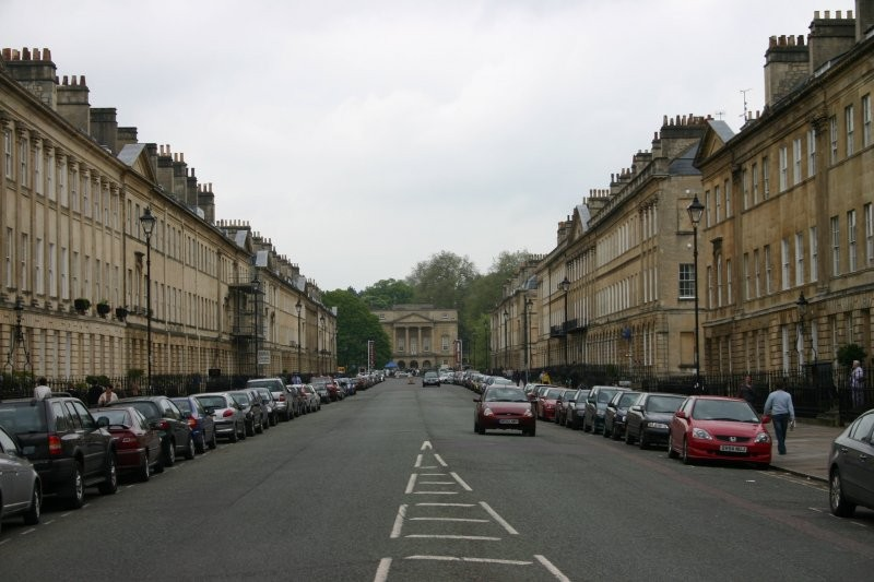 Bath - Georgianische Architektur
