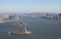 Heli-Flug in NYC: Statue of Liberty III