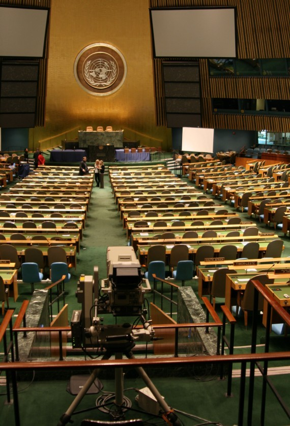 Tour durch das United Nations Headquarter IV (General Assembly)