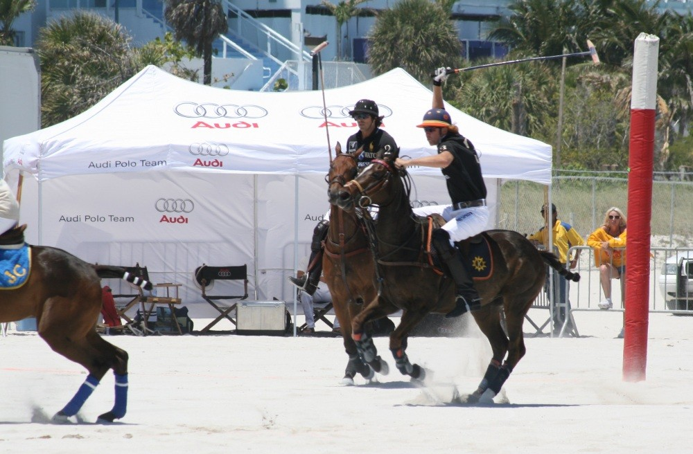 Miami Beach Polo World Cup am Strand VIII