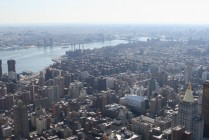 Ausblick vom Empire State Building (86th Floor) VI