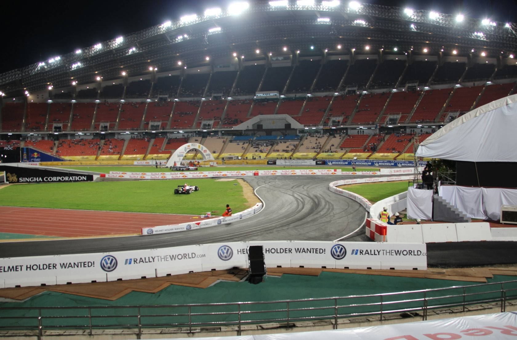 Bangkok - Race of Champions im Rajamangala-Stadion (ROC Nations Cup) XV
