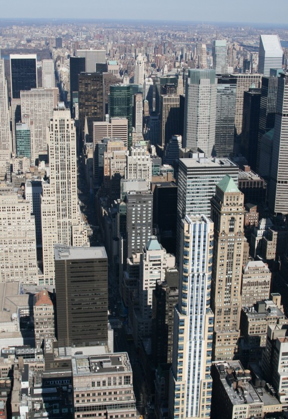 Ausblick vom Empire State Building (86th Floor) XI