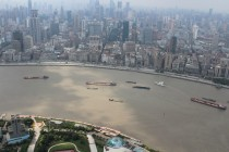 Shanghai - Ausblick vom Oriental Pearl Tower in Pudong I