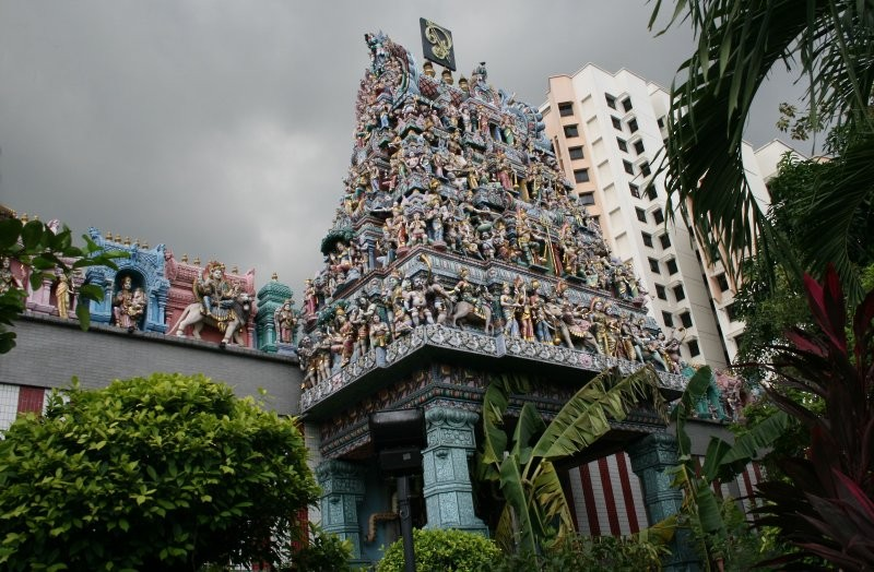 Little India - Sri Veeramakaliamman Tempel III