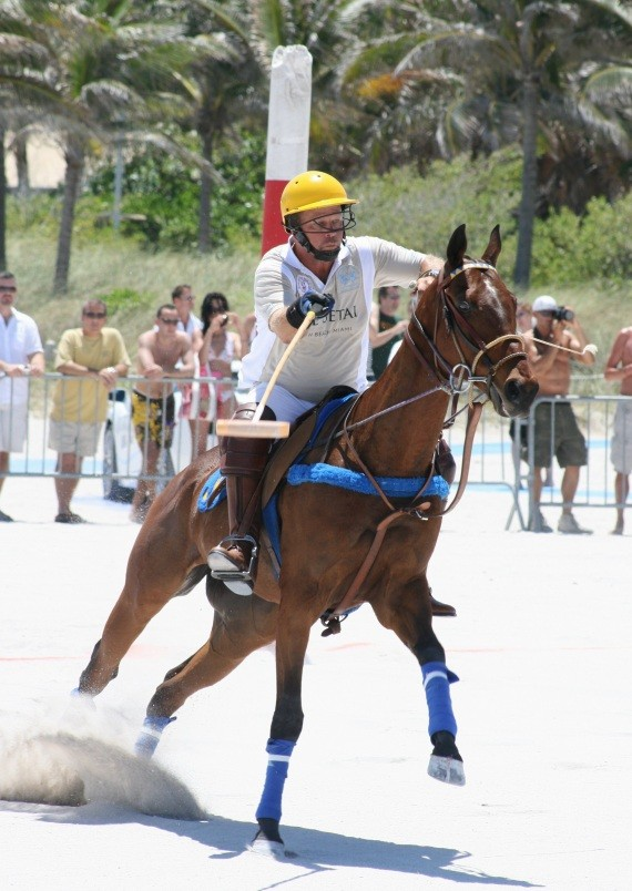 Miami Beach Polo World Cup am Strand XI