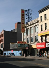 Apollo Theatre in Harlem