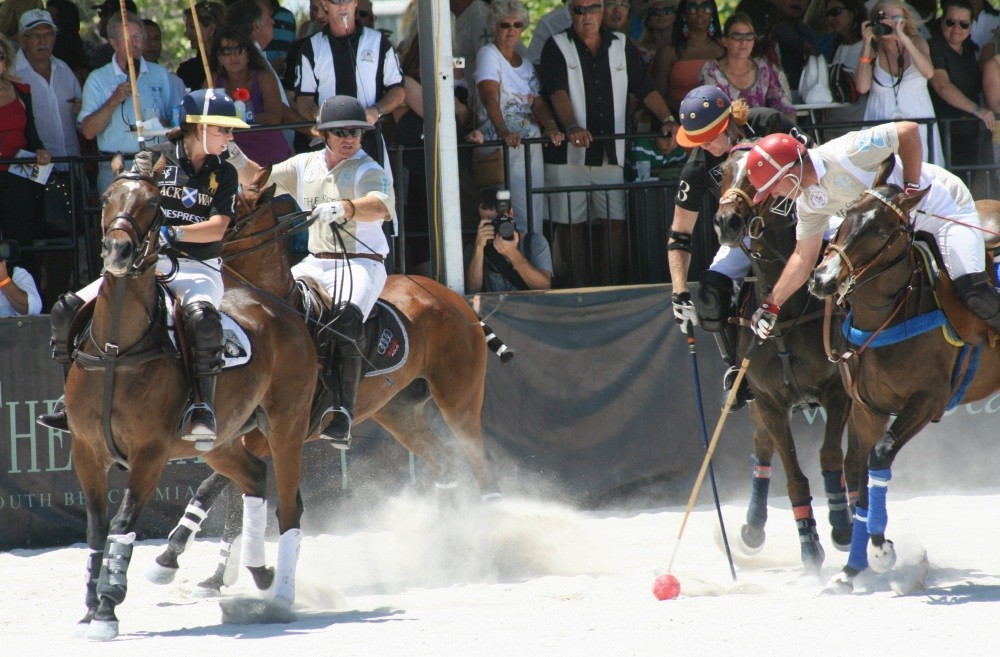 Miami Beach Polo World Cup am Strand XIII
