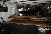 Portsmouth - Dockyard: HMS Warrior VI
