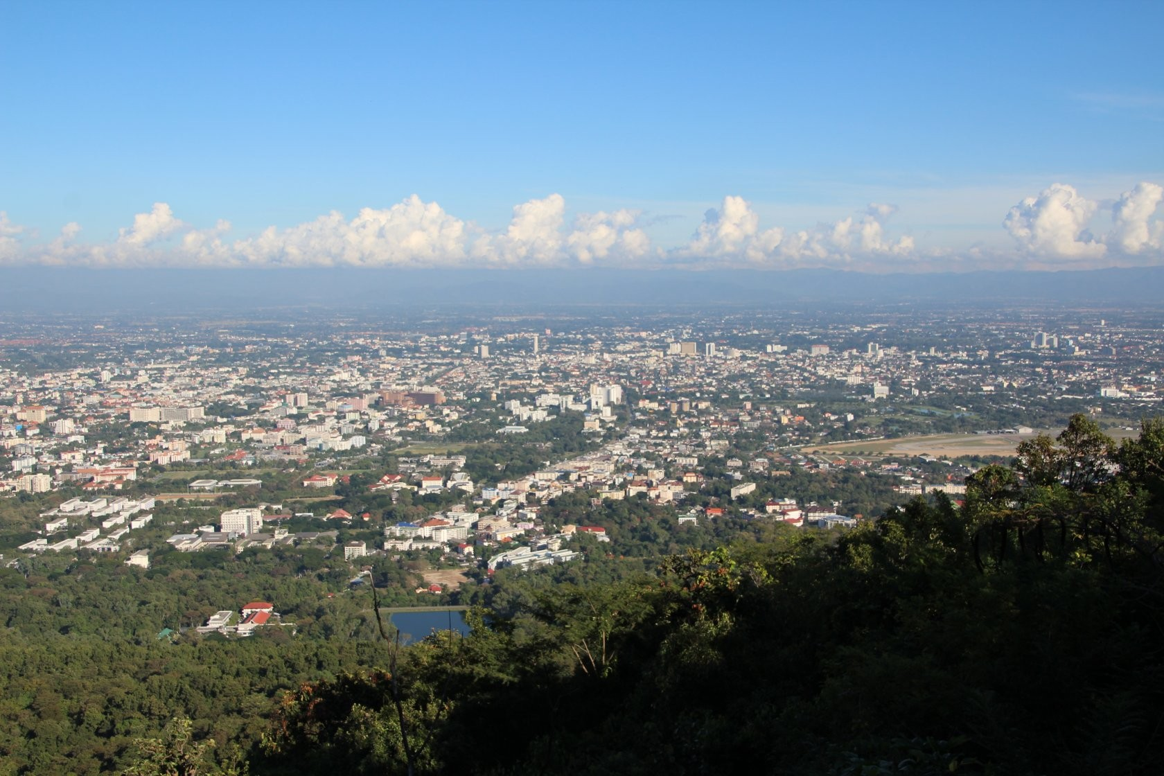 Chiang Mai - Rundgang durch die Stadt LXVI (Blick auf Chiang Mai)
