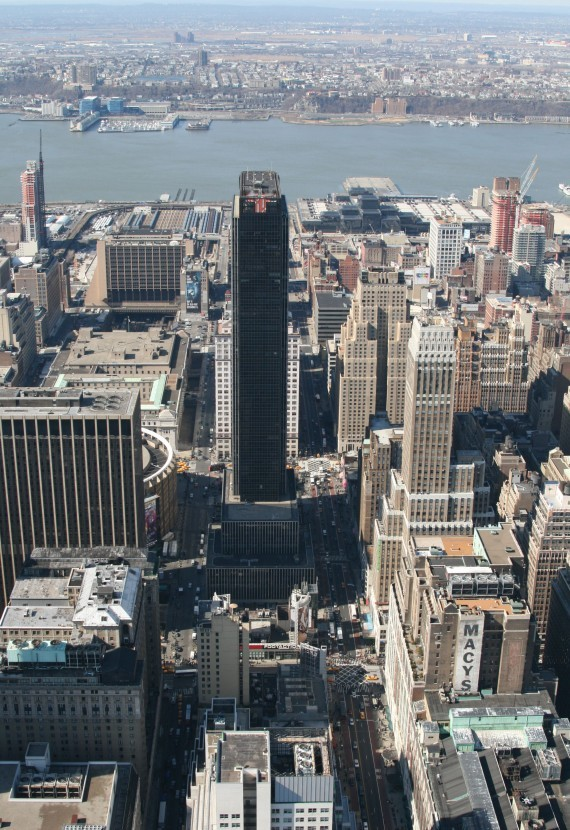 Ausblick vom Empire State Building (86th Floor) II