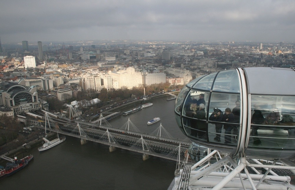 London Eye Riesenrad VII