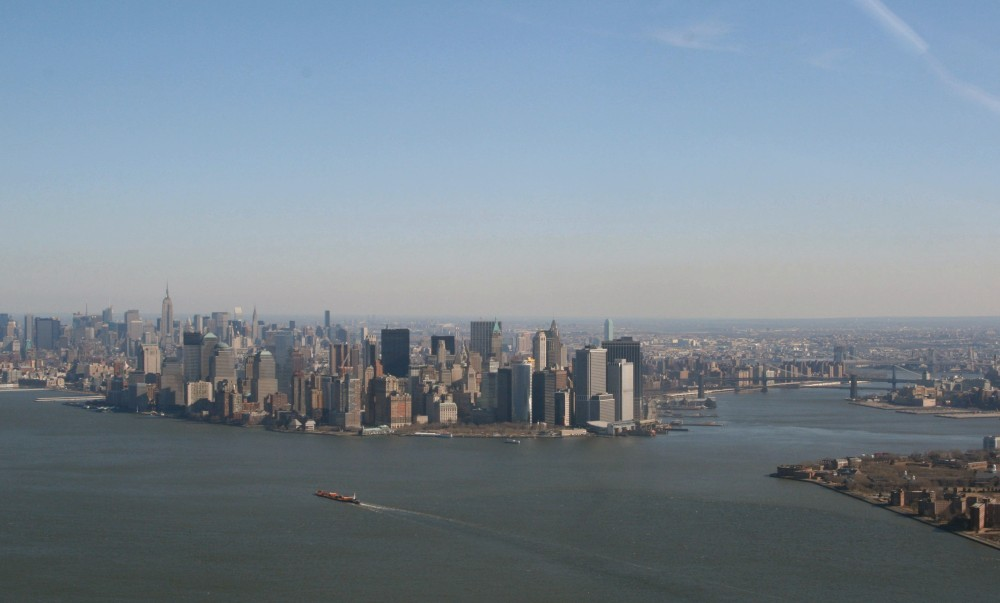 Heli-Flug in NYC: Downtown Manhattan II