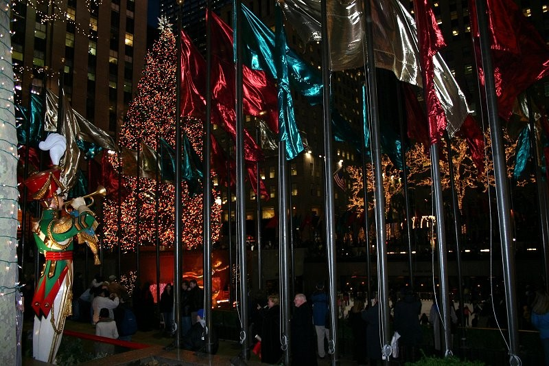 Ice Skating Ring im Rockefeller Center II