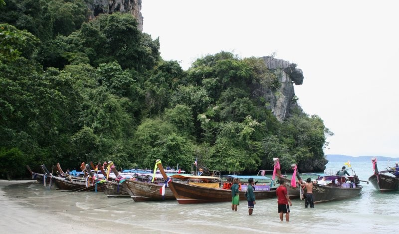 Krabi-Umgebung - Hat Rai Leh West (Railey Beach) I