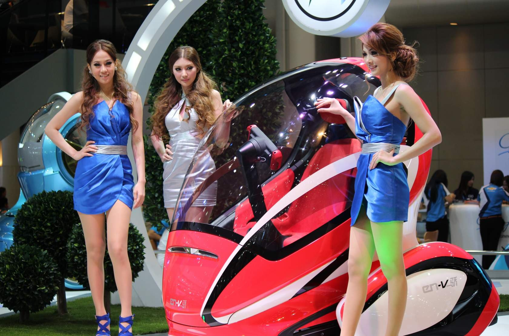 Bangkok - Thailand International Motor Expo 2011 XLIX